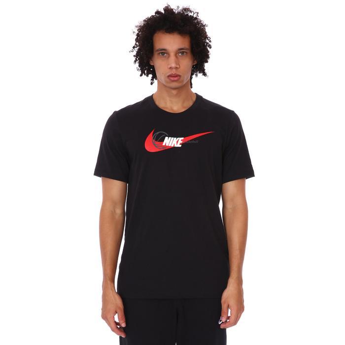 M Nk Df Oc Hbr Ss Tee Erkek Siyah Basketbol Tişört DJ1586-010 1308720