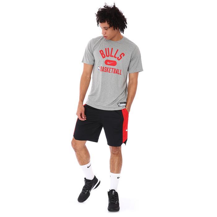 Chicago Bulls NBA Df Es Prt Gpx Ss Erkek Siyah Basketbol Tişört DA5916-063 1306884