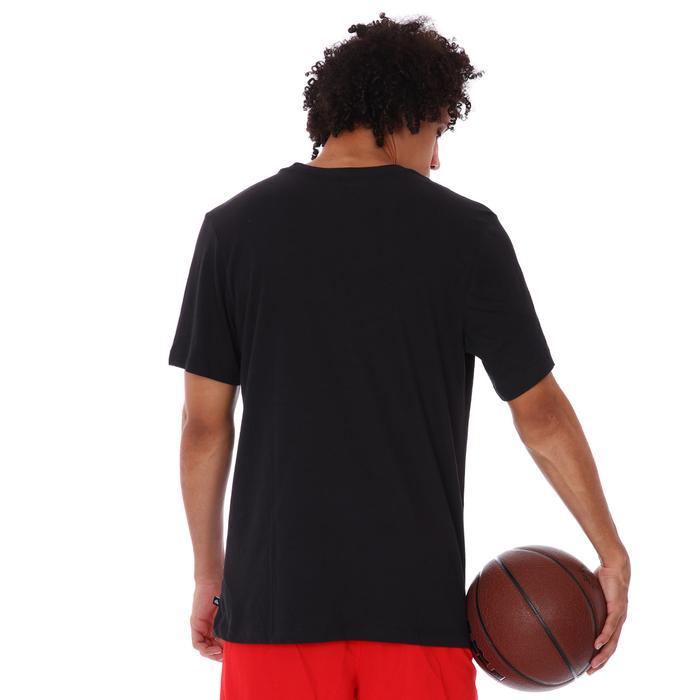 Ga M Nk Df Freak Print Ss Tee Erkek Siyah Basketbol Tişört DJ1564-010 1308698