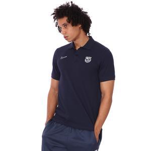 Fcb M Nk Polo Slim Erkek Mavi Futbol Polo Tişört CW5300-451