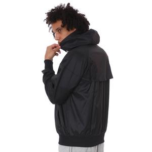 M Nsw Spe Wvn Lnd Wr Hd Jkt Erkek Siyah Günlük Stil Ceket DA0001-010