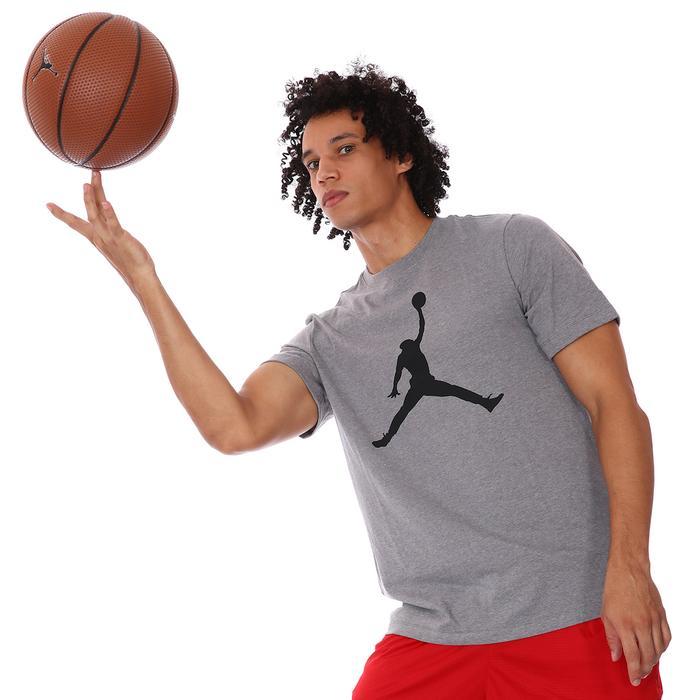 Jordan Jumpman NBA Crew Erkek Gri Basketbol Tişört CJ0921-091 1174742