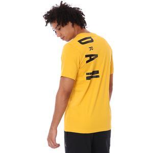 Air Jordan NBA Stretch Ss Crew Erkek Sarı Basketbol Tişört CZ8402-781