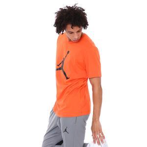 Jordan Jumpman NBA Crew Erkek Turuncu Basketbol Tişört CJ0921-803