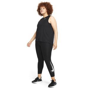 W Nk Df Swsh Run 7/8 Tgt Plus Kadın Siyah Koşu Tayt DJ6963-010