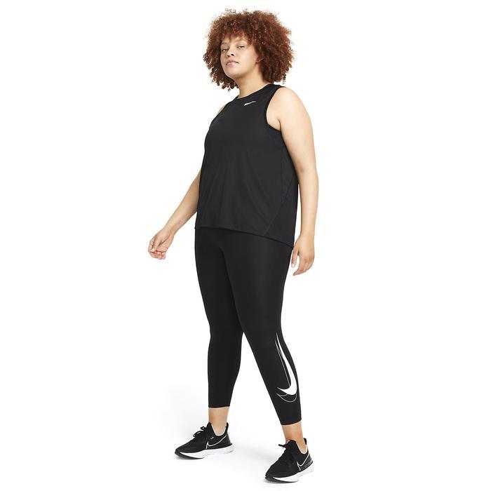 W Nk Df Swsh Run 7/8 Tgt Plus Kadın Siyah Koşu Tayt DJ6963-010 1308941