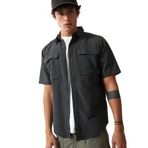 M S/S Sequoia Shirt Erkek Gri Outdoor Gömlek NF0A4T190C51