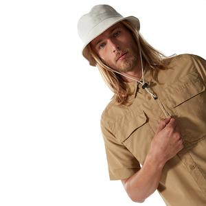 M S/S Sequoia Shirt Erkek Bej Outdoor Gömlek NF0A4T19Z741