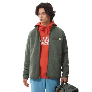 M Gl Full Zip Erkek Yeşil Outdoor Ceket NF0A5GL117H1