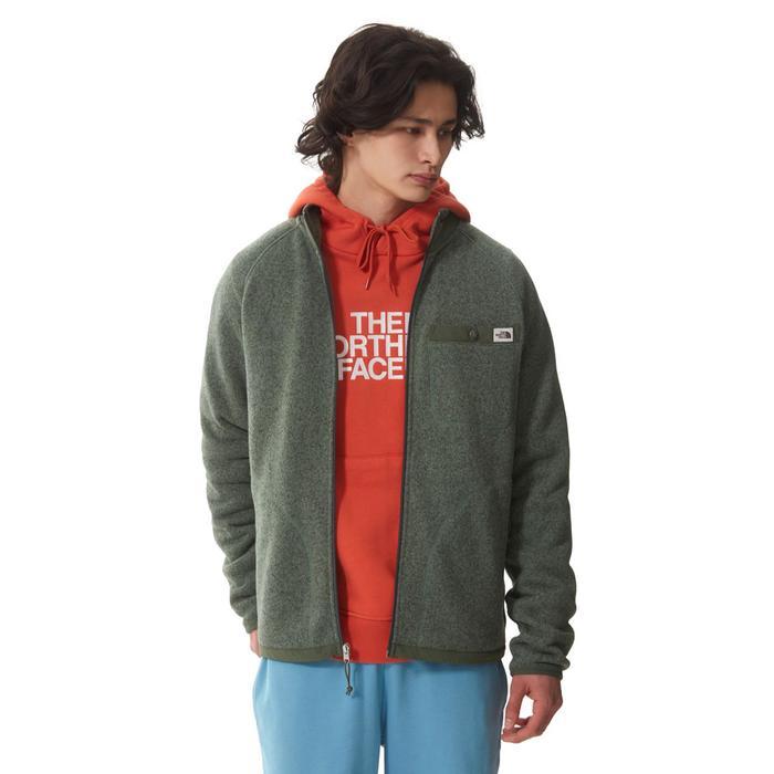 M Gl Full Zip Erkek Yeşil Outdoor Ceket NF0A5GL117H1 1318048