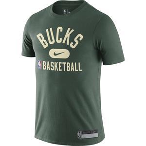 Milwaukee Bucks NBA Erkek Yeşil Basketbol Tişört DA5928-323