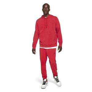 Air Jordan NBA Hoodie Erkek Kırmızı Basketbol Sweatshirt DA9860-687