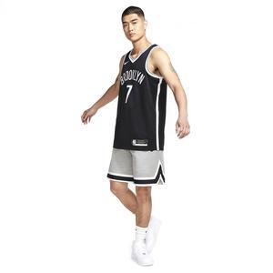 Brooklyn Nets NBA Jsy Icon 20 Erkek Siyah Basketbol Atleti CW3658-013