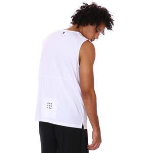Zip Pocket Erkek Beyaz Koşu Tişört 21KETP17C02-BYZ