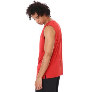 Zip Pocket Erkek Kırmızı Koşu Tişört 21KETP17C02-KRM
