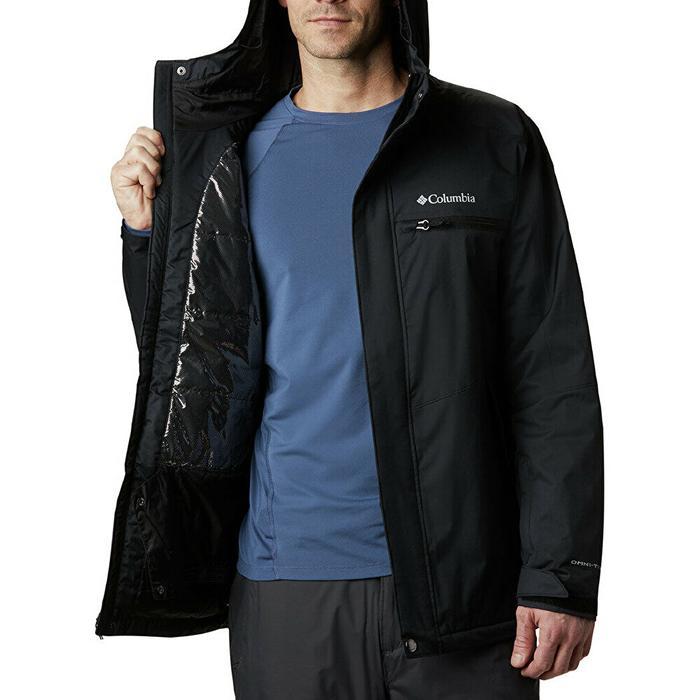 Wo0976 Valley Point Jacket Erkek Siyah Outdoor Mont WO0976-010 1228766