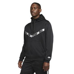 M Nsw Repeat Pk Fz Hoodie Erkek Siyah Günlük Stil Sweatshirt DM4672-010