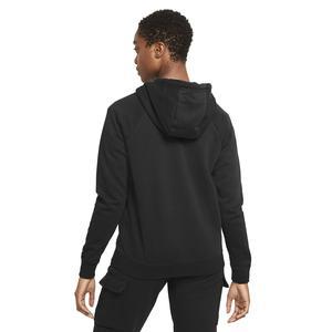 W Nsw Essntl Fz Hoodie Prnt Kadın Siyah Günlük Stil Sweatshirt DJ4120-010