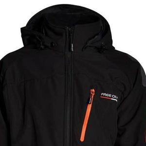 Freecamp 3in1 Softshell Erkek Siyah Outdoor Mont FMM004-BLACK