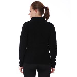 Spo-Polarhalfwom Kadın Siyah Günlük Stil Polar 710081-SYH
