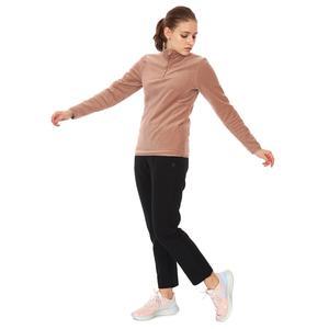 Spo-Polarhalfwom Kadın Pembe Günlük Stil Polar 710081-GUL
