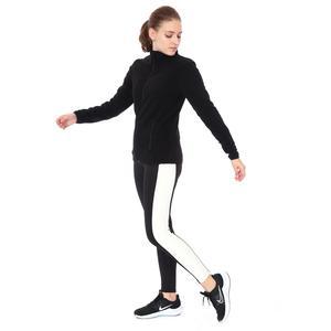 Spo-Polarwom Kadın Siyah Günlük Stil Polar 710080-SYH