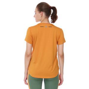 Mesh Back Kadın Turuncu Koşu Tişört 21KKTP18D01-TRN