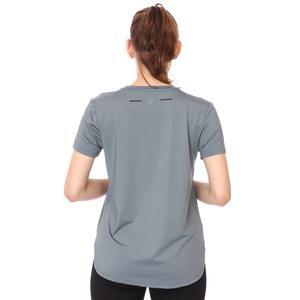 Mesh Back Kadın Mavi Koşu Tişört 21KKTP18D01-MAV