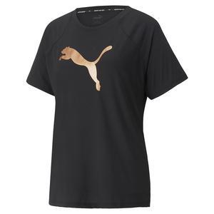 Evostripe Kadın Siyah Günlük Stil Tişört 58914351