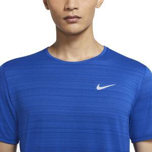 Dri-Fit Miler Erkek Mavi Koşu Tişört CU5992-480